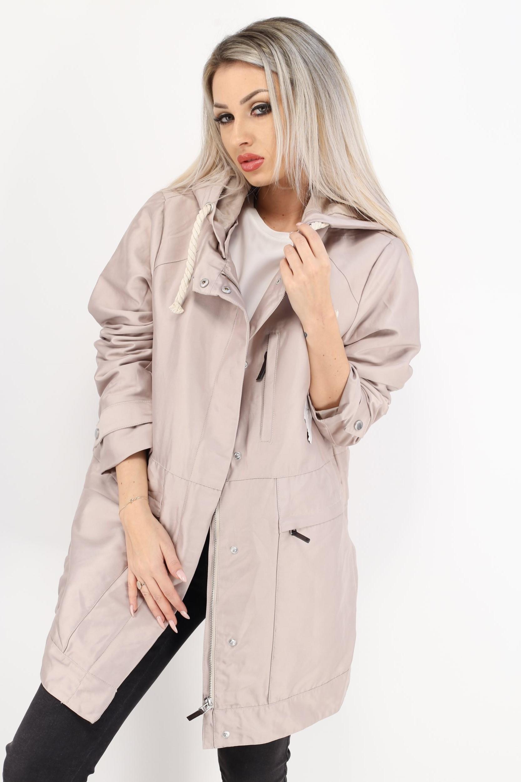 haină lungă subțire