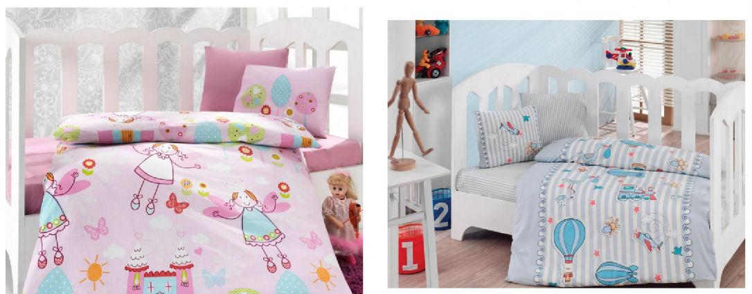 Lenjerii de pat bumbac copii