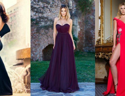 Rochii de nunta ieftine! Modele variate de rochii de seara elegante pentru nunta online!
