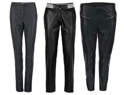 Pantaloni piele dama! Modele de pantaloni din piele de dama online!