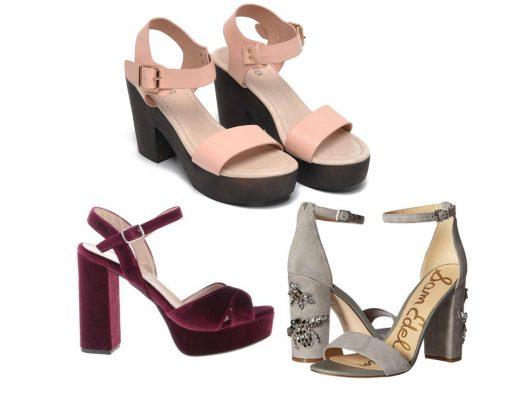 Sandale cu toc gros si subtire! Modele variate de sandale cu toc online!