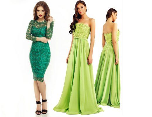 Rochii verzi! Modele variate de rochii verzi online!