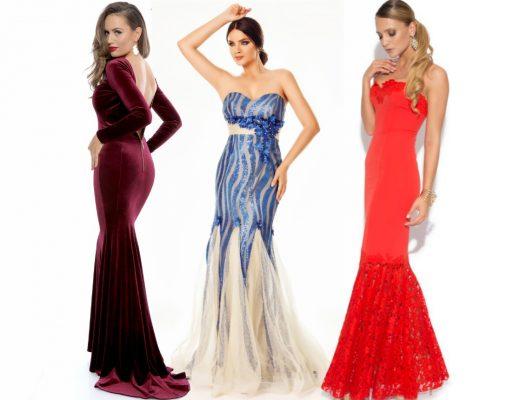 Rochii sirena! Modele variate de rochii sirena de seara online!