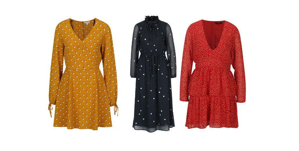 Rochii cu buline! Modele variate de rochii cu buline lungi si scurte online!oderne-elegante-casual-vanzare-online