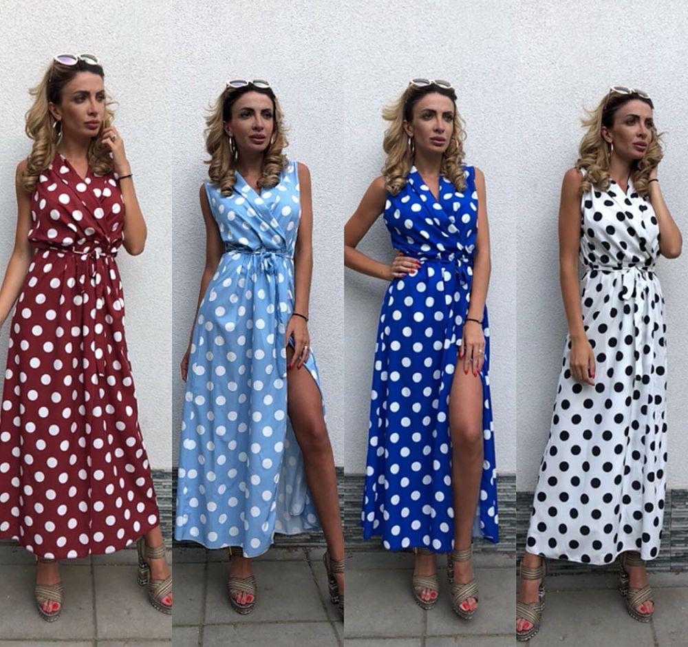 Rochii cu buline! Modele variate de rochii cu buline scurte si lungi online!