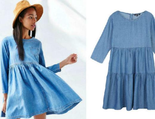 Rochii de blugi moderne! Modele variate de rochii de blugi online!