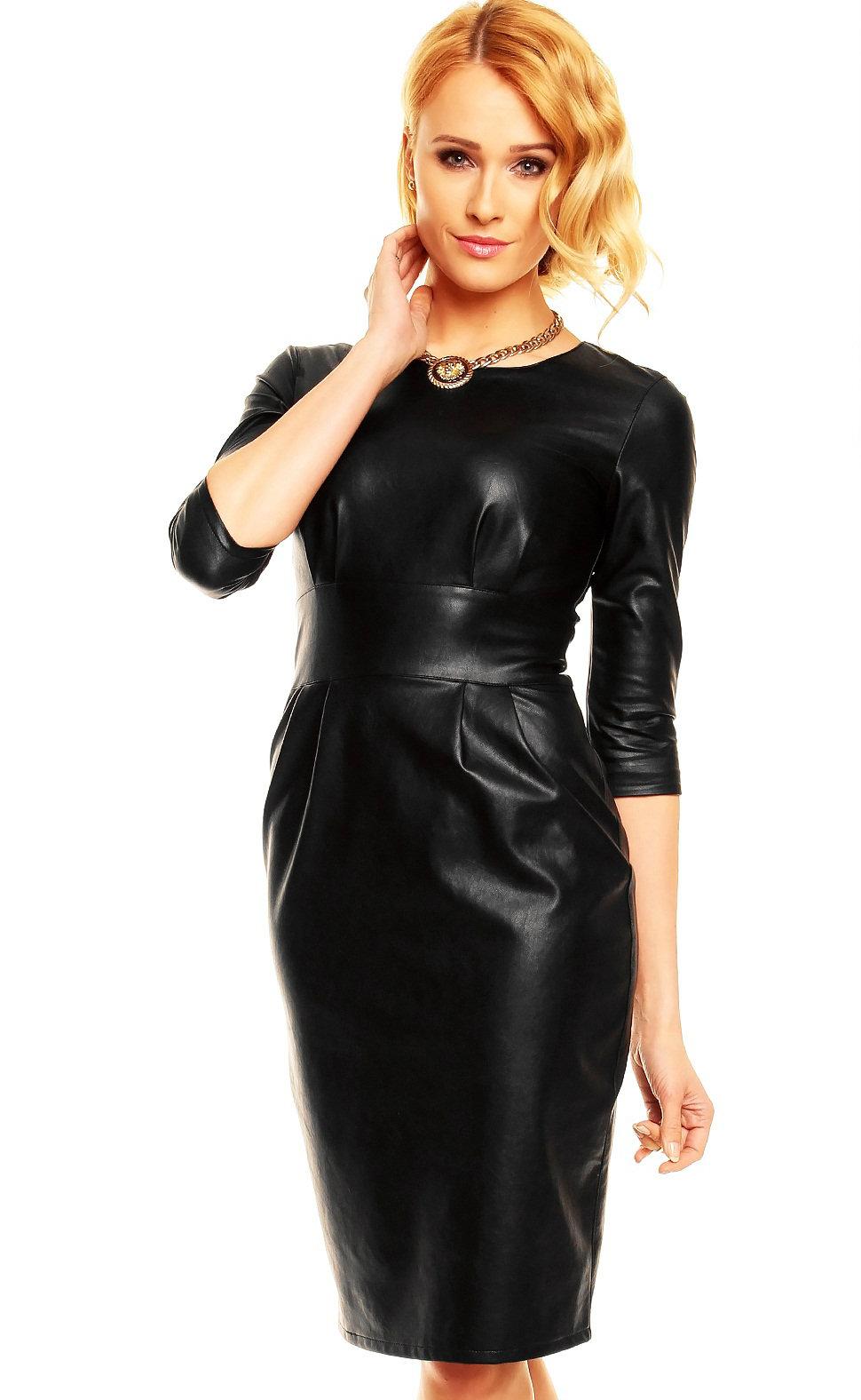 Rochii piele! Modele de rochii piele moderne si elegante online!