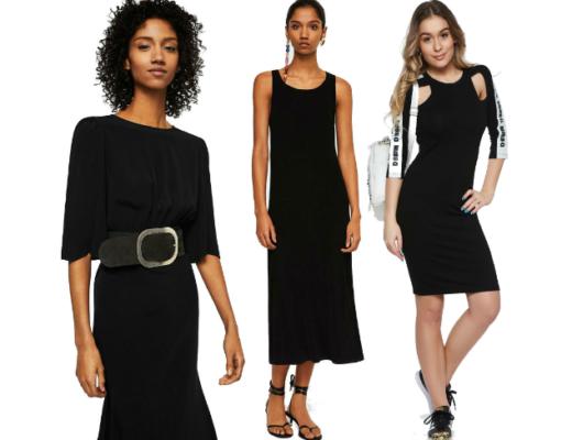 Rochii negre de zi! Modele de rochii negre de zi online!