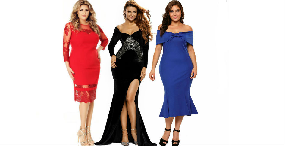Rochii plus size de seara! Modele variate de rochii plus size online!