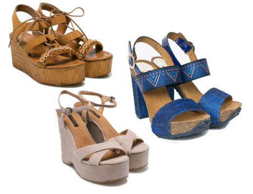 Sandale cu platforma! Modele variate de sandale cu platforma online!